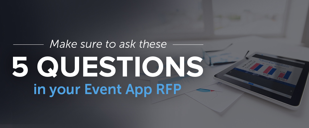 Writing an RFP for any event tech can be a daunting task, especially if you
