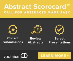 The Abstract Scorecard makes it easy to collect and review abstracts that speakers submit during the call for papers process. It's so robust it can also be used for grant submissions and award review processes.