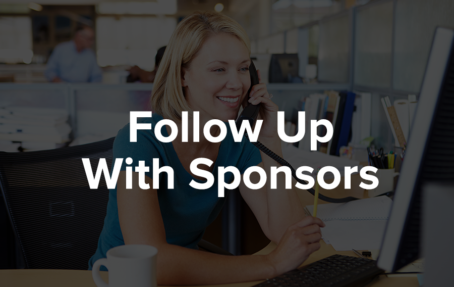 If you don't hear from the sponsor after a week or so, don't