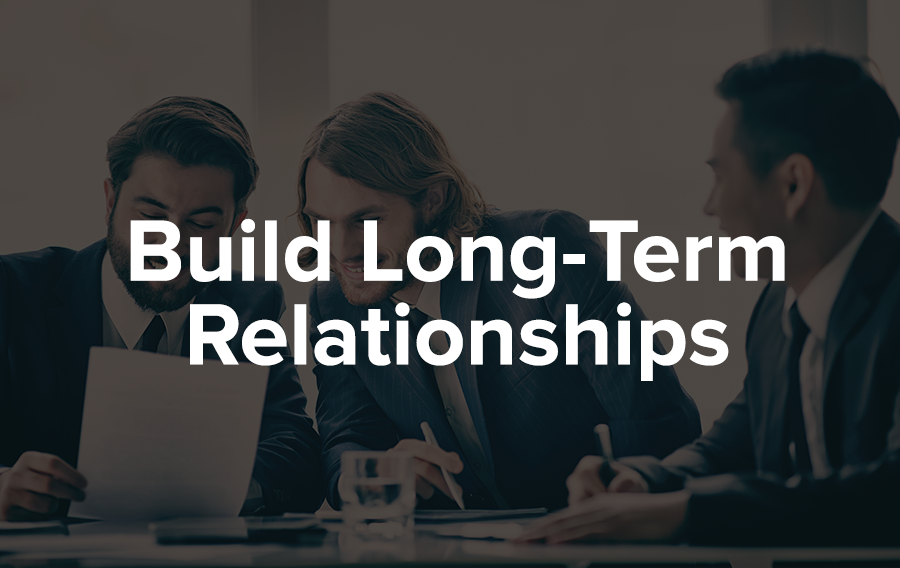 Stay in touch with your sponsor and build a relationship