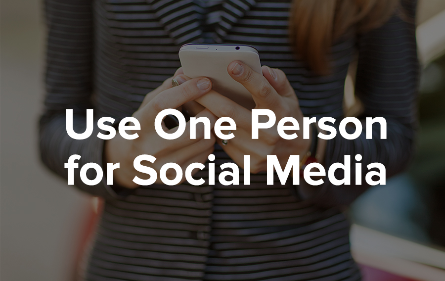 Assign At Least One Person to Social Media