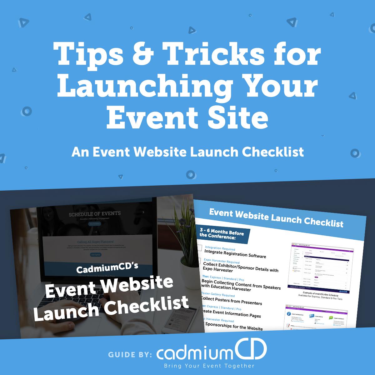 Event Website Launch Checklist