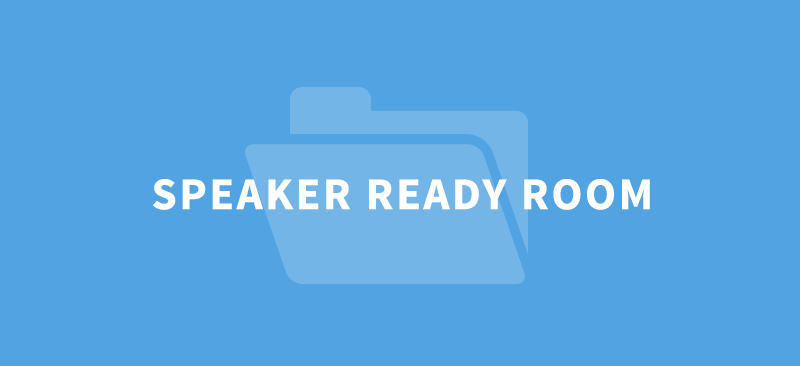 Hermes speaker ready room software connects event planners and speakers like never before. Let speakers upload onsite and push presentations to session rooms and production teams with the touch of a button.