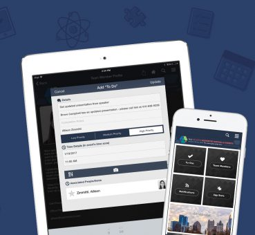 eventScribe Boost is a Conference App for Meeting Planners