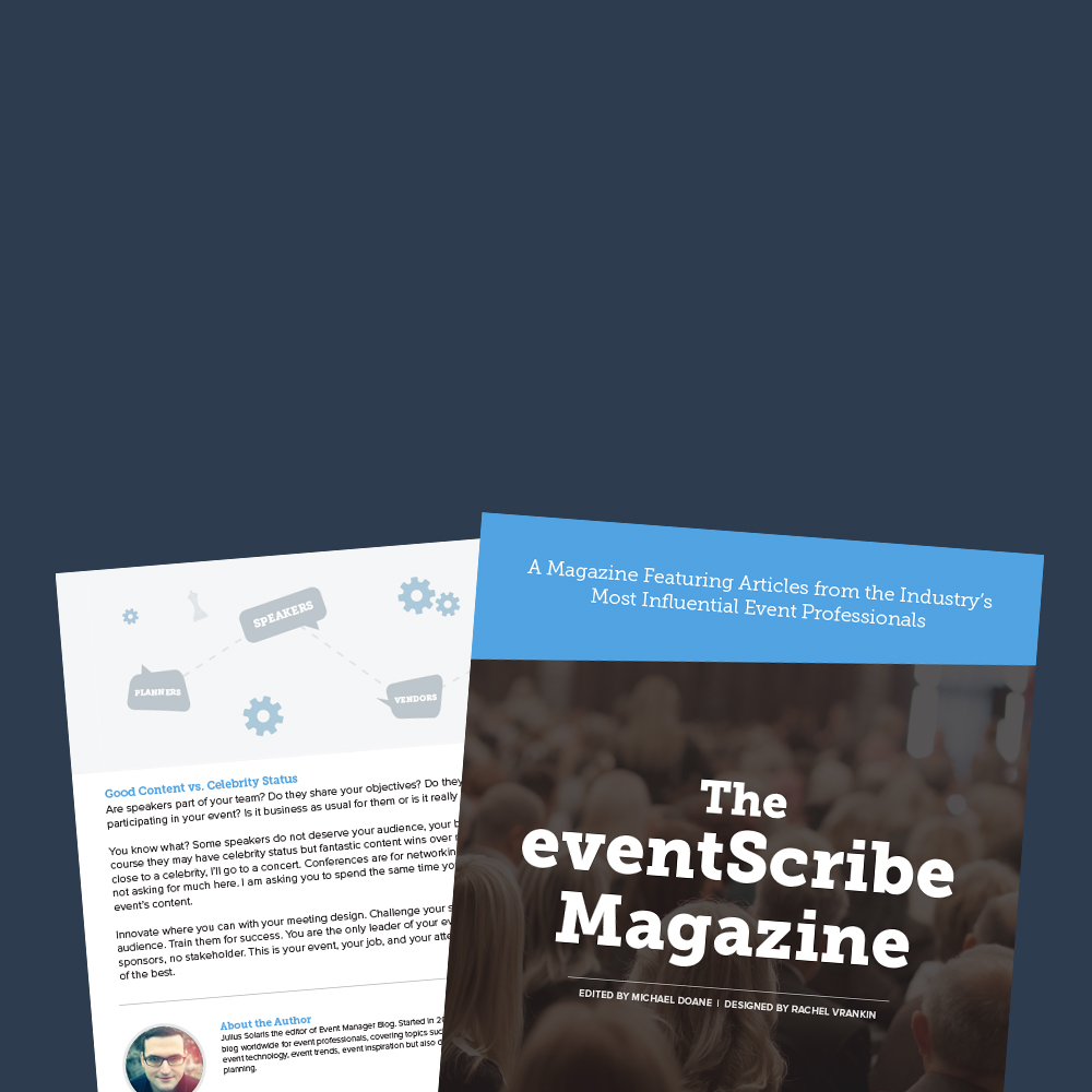 eventScribe Magazine - Voices from the Industry